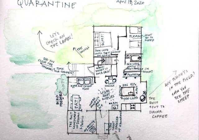 Mapping My Quarantine